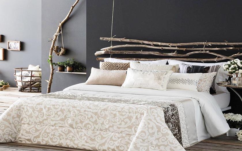 6 ideas originales para el cabecero de la cama reformas - Camas sin cabecero ...