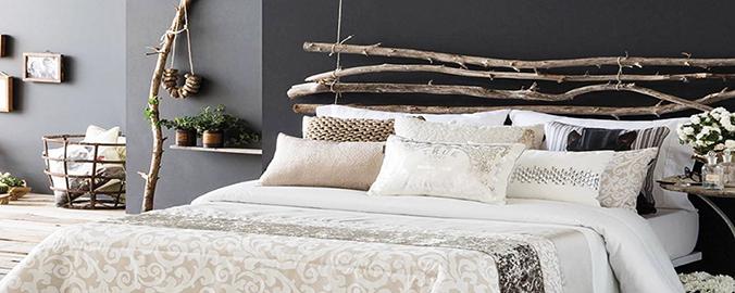6 ideas originales para el cabecero de la cama reformas for Cabezales originales