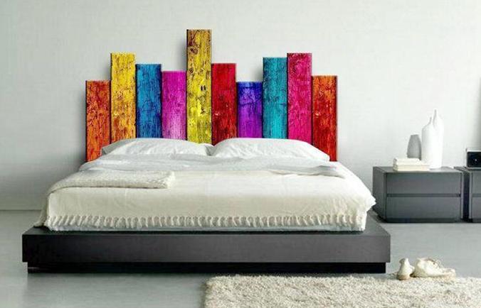 6 ideas originales para el cabecero de la cama reformas - Ideas cabecero cama ...