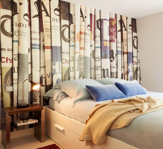6 ideas originales para el cabecero de la cama reformas malaga sermulreformas malaga sermul - Cabecero cama pintado ...