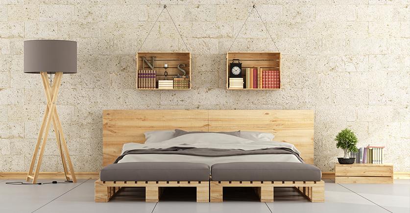 C mo decorar con cajas y pal s de madera reformas malaga - Como decorar una caja de metal ...