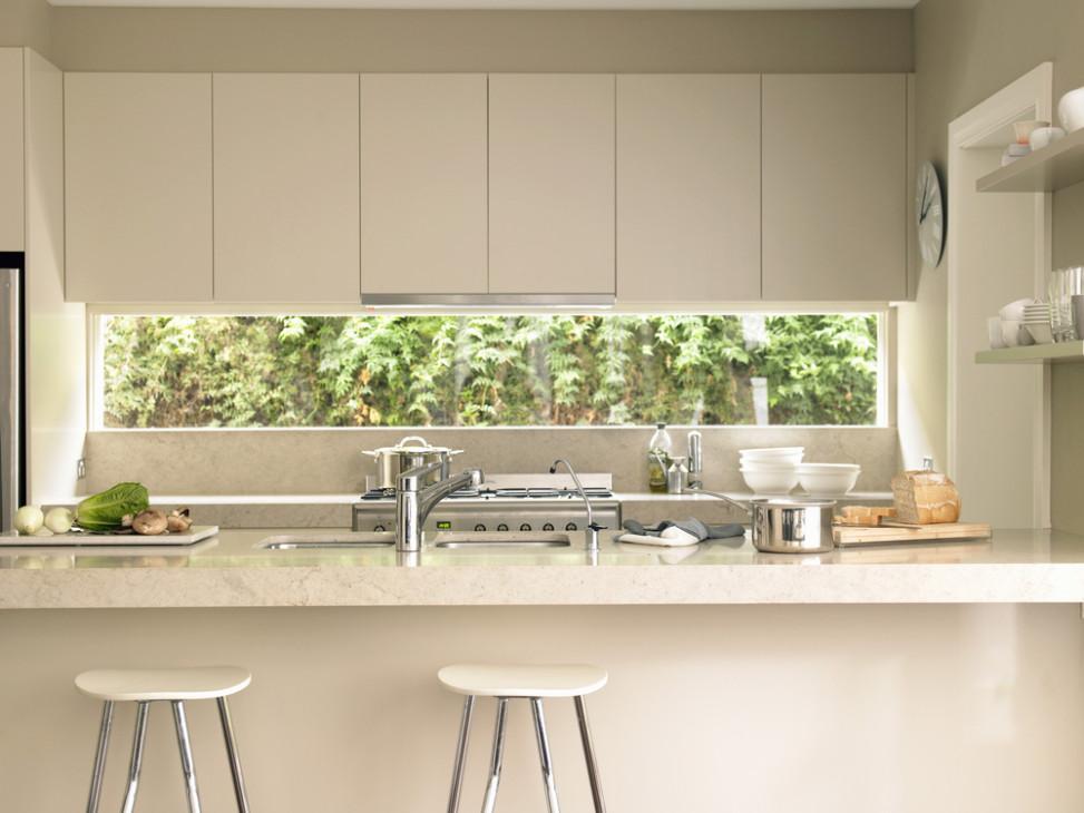Cocina-moderna-con-barra-americana-973x730 - REFORMAS MALAGA ...